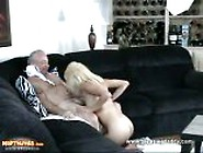 Blonde Hottie Gets Her Wet Pussy Fucked By Uncle Jesse
