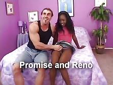 Hairy Ebony Teen And White Man
