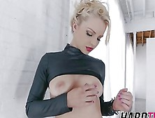 Blonde Rocker Chicks Loves Getting Pussy Banged Hardcore