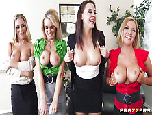 My Lovely Pornstars Show Their Big Juicy Breasts!