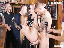 Crowdbondage - Helena Valentine Gorgeous Hungarian Intense Bdsm Fetish Submission