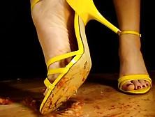 Tube crush fish High heels