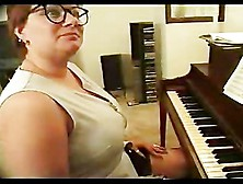 Bbw Piano Teacher Fucked By Two Guys