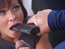 Alysa Anal Screwed With Big Black Cock Roughly In Interracial Sc