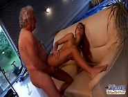 Erica Fontes Fuck and cumshot with Very old man !