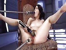 Fetish Slut With Fucking Machines