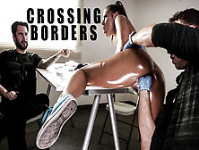 Adriana Chechik & Chad White & Tommy Pistol In Crossing Borders