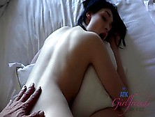 Point Of View Eating Cock With Brunette Fuckslut Getting Throatfucked