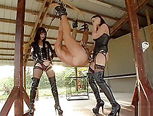 Clubdom Mistress - Alexis Grace Is Fucking Her Whore With Strapo