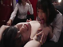 Young Asian Guy Tortured By Girls