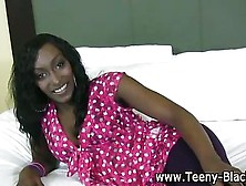 Black Teen Hottie Strips Down