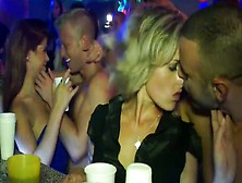 Crazy Club Orgy With Extremely Drunk But Incredibly Hot Chicks