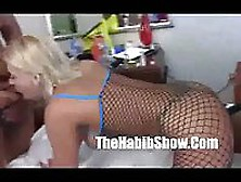 Blonde Girl Is Used As A Sex Doll
