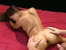 Lesbian cum swapping huge facial
