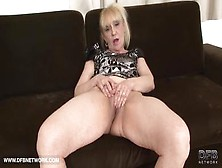 Naughty Mature Blonde Granny Takes A Big Black Cock In Her Juicy