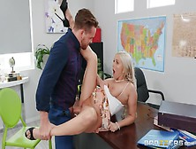 Christie Stevens And Kyle Mason - Blonde Chick Moves From Sucking To Riding Dick Hard