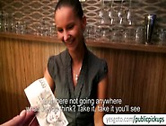 Tight Amateur Barmaid Marie Getty From Europe Analyzed For Money