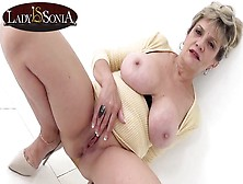Busty Blonde Old Chick Sonia Has A Filthy Mind