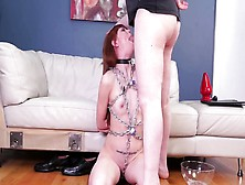 Sub Bdsm Dom And Women Bondage Gagged Slavemouth Alexa