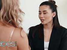 Babes Step Mom Lessons Brett Rossi Codey Steele Aria Lee Kneel At Her Feet