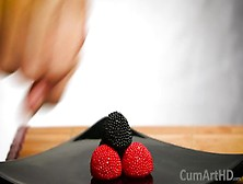 Cfnm Handjob + Cum On Candy Berries! (Cum On Food 3)