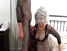 Granny Sucking His Cock Before He Fucked Me...