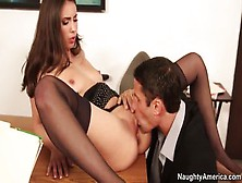 Brunette Sex Video Featuring Casey Calvert And Casey Deluxe