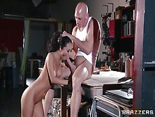 Beauteous Breasty Japanese Asa Akira Blows The Dick