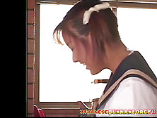 Little Japanese Schoolgirl Cum Facialed Japanese Bukkake Fucky-Fucky