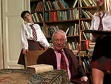 Hot Teens In School Uniform Get Fucked By An Old Dude