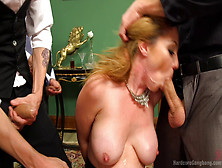 Hot Milf Slut Dp Gangbang