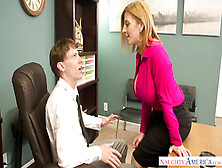 Hottie Office - Sara Jay Vs Rion King