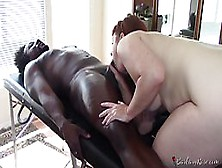 Rose Is Having A Blast While Getting Fucked From The Back,  By A Black Guy