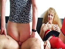 Scout69 - German Big Dick Rockstar First Time Ffm Threesome With Milfs
