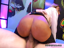 Czech Blonde Riding Dick And Gives Cum Swallows