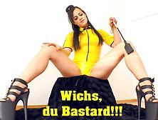 Wichsanleitung deutsche dominante Dominante Wichsanleitung