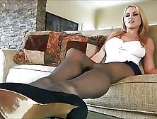 Randy Moore Sweet Femdom Chastity Tease Leotard Pantyhose