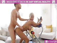 Vr Porn-Bridgette B Sexy Milf Having Sex With The Pool Guy