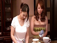 Super Hot Japanese Lesbian Having Sex With Her Maid
