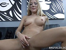 Naughty Amy Brooke Double Dildo Penetration And Anal Prolapsing