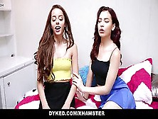 Dyked - School Roommates Licking Each Other