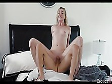 Blonde Darling With Nice Boobies Zoe Parker Blows A Dick And Rid