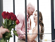 Johnny Sins Visits Abigail Mac In Jail To Lick And Fuck Her