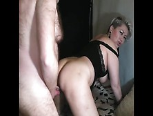Real Lovers From Russia,  20 Minutes Of Fine Dogging With Pounding In Pussy & Butt-Hole Of A Alluring Milf!