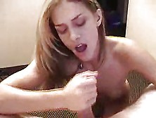Amazing Babe Blows With Passio