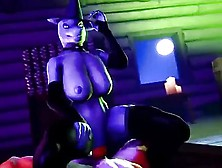 3D Cartoon Furry And Inhuman Hotties Ride Big Dicks Passionately