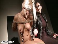 lesbian cunt tits Tortured