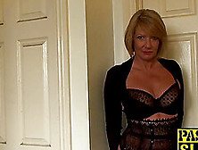 Sexy Mature Lady In Lingerie Teasing You