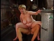 Mature Bbw Gets A Stiff One Deep