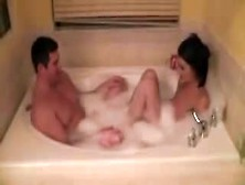 Alexis Grace,  Footjob In The Bath